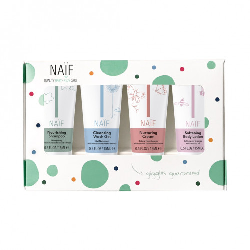 Naïf Baby & Kids The Mini Kit - 4 products for a worry-free travel
