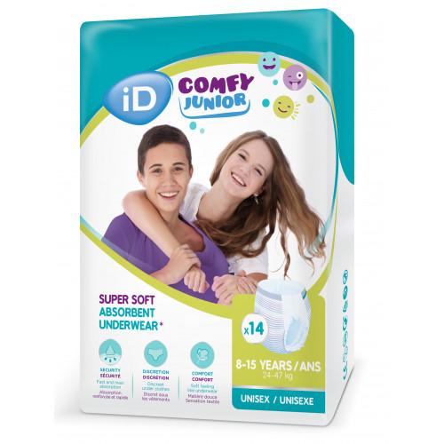 Diapers-panties iD Comfy Junior 24-47kg 14pcs