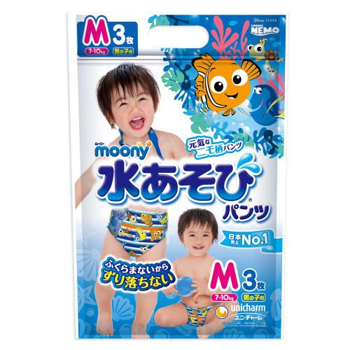 Moony swimming pants boy PM 6-12kg 3pcs