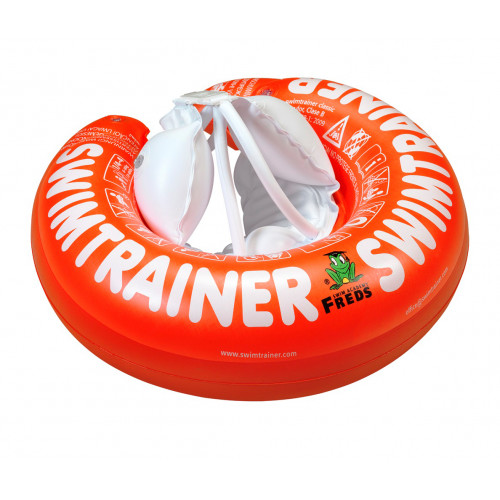 """Swimtrainer """"Classic"""" by Freds swim academy (ages 3 months to 4 years, 6 - 18kg)red"""