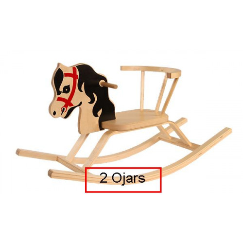 Troja The wooden rocking horse Ojārs